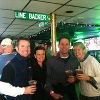 Photo taken at Linebacker Lounge by Susan H. on 10/22/2011