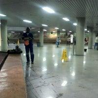 Photo taken at Metrô-DF - Estação Central by Robson P. on 12/26/2011
