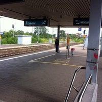Photo taken at Frankfurt Niederrad Railway Station by Felix B. on 7/22/2011
