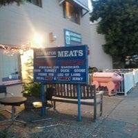 Photo taken at Los Gatos Meats Smokehouse by Renan C. on 12/13/2011
