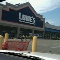 Photo taken at Lowe's Home Improvement by Elizabeth M. on 9/25/2011