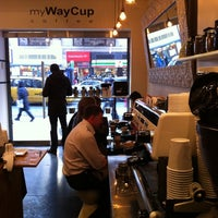 Photo taken at MyWayCup Coffee by Sufi K. on 2/15/2011