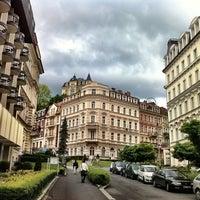 5/16/2012 tarihinde Andrew S.ziyaretçi tarafından Karlovy Vary | Karlsbad'de çekilen fotoğraf