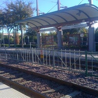 Photo taken at Bush Turnpike Station (DART Rail) by Errin K. on 11/11/2011