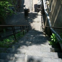 Photo taken at Stairs Of Death by Courtney S. on 8/12/2012