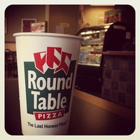 Photo taken at Round Table Pizza by Ed V. on 11/25/2011