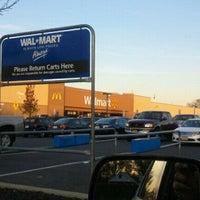 Photo taken at Walmart by Thomas P. on 11/2/2011