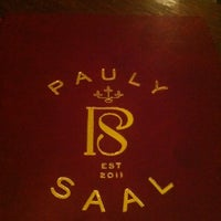 Photo taken at Pauly Saal by Elli P. on 3/23/2012
