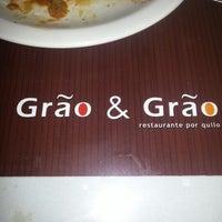 Foto tirada no(a) Restaurante Grão & Grão por Douglas P. em 7/3/2012