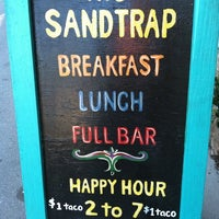 Photo taken at The Sandtrap by Maggie P. on 12/10/2011