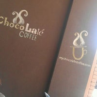 Photo taken at Chocolaté Coffee by Chelsea B. on 10/3/2011