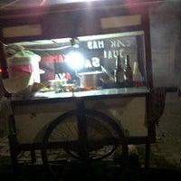Photo taken at Sate Ayam Cak Mad DeltaSari by Hadinata W. on 3/7/2012