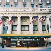 Photo taken at Hotel Pennsylvania by Groupalia Italia on 11/9/2011