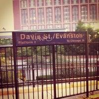 Photo taken at Metra - Evanston (Davis Street) by Tim R. on 9/5/2012