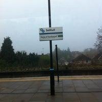 Photo taken at Solihull Railway Station (SOL) by Deborah H. on 11/19/2011