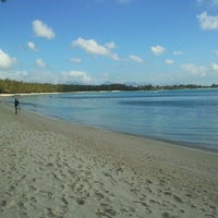 Photo taken at Mont Choisy Beach by Daryl W. on 9/20/2011