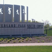 Photo taken at Overland Park Soccer Complex by Aaron R. on 5/4/2011