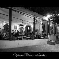 Photo taken at Yannis Bar by konstantinos n. on 8/9/2012