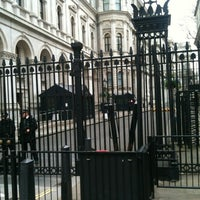 Photo taken at 10 Downing Street by Joe T. on 2/27/2012