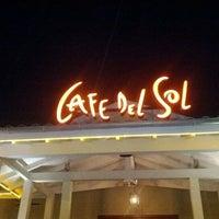 Photo taken at Cafe del Sol by Oliver L. on 1/3/2012