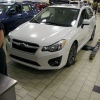 Photo taken at Johnson Hyundai of Cary by Brian F. on 6/8/2012