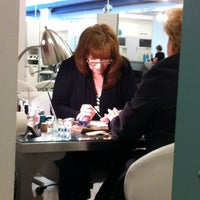 Photo taken at Mirabella Salon by Michelle C. on 3/12/2012