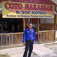 Photo taken at Coto Makassar & Sop Konro by Sugiono D. on 6/28/2012