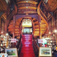 Photo taken at Livraria Lello by Carlos F. on 4/11/2012
