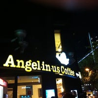 Photo taken at Angel-in-us Coffee by SH S. on 8/29/2011