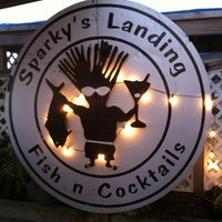 Photo taken at Sparky's Landing by Patrick L. on 6/13/2012