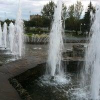 Photo taken at Сквер им. Дзержинского by Яmina💣 on 8/26/2012
