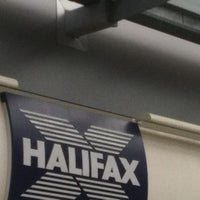 Photo taken at Halifax Bank Thornaby by Bilbo on 9/21/2011