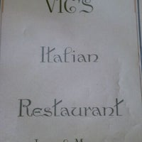 Photo taken at Vic's Ristorante Italiano & Pizzeria by brittany i. on 1/17/2012
