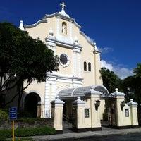 Photo taken at Santuario de San Antonio Parish by Francis G. on 10/10/2011