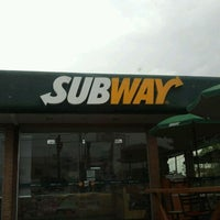 Photo taken at Subway by Flavio O. on 9/18/2011