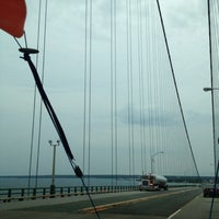 Photo taken at Straits of Mackinac by Maria K. on 7/27/2012