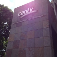 Photo taken at Cantv Nea by Sebastián G. on 5/16/2012