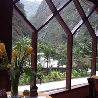 Photo taken at Sumaq Machu Picchu Hotel by Andrea B. on 4/7/2012