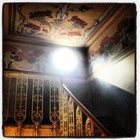 Photo taken at Ostello della Gioventù Villa Francescatti by Laura S. on 6/27/2012