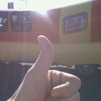 Photo taken at Oscar Mayer Weinermobile by Kelly C. on 5/19/2011