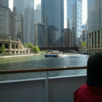 Photo taken at Michigan Avenue Bridge by Melissa S. on 5/13/2012