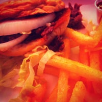 Photo taken at Burger Tex by ^_^ on 4/17/2012