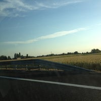 Photo taken at Autostrada A13 by Veronica S. on 8/2/2012