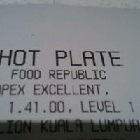 Photo taken at Food Republic by Sandip on 1/4/2012