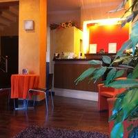 Photo taken at Hotel Delizia Milan by Roberto P. on 2/4/2011