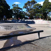 Photo taken at Five Dock Skate Park by Andy C. on 6/17/2012