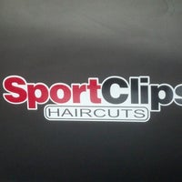 Photo taken at Sport Clips by Javier V. on 9/13/2012