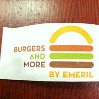 Photo taken at Burgers and More by Emeril by Derek L. on 3/24/2012
