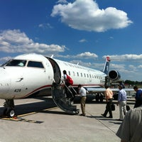 Photo taken at Chattanooga Metropolitan Airport (CHA) by Ivan S. on 6/6/2012