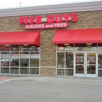 Photo taken at Five Guys by Rob H. on 3/2/2012